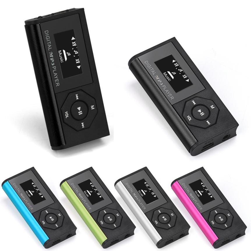 HIPERDEAL Mini USB MP3 Musik Media Player Lcd-bildschirm Unterstützung 16 GB Micro SD TF Karte Drop Shipping 1J24