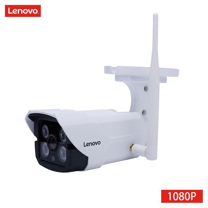 LENOVO IP Camera wifi 1080p IR Camera cctv outdoor ip surveillance camera Waterproof Memory Card night Camera Night Vision hd