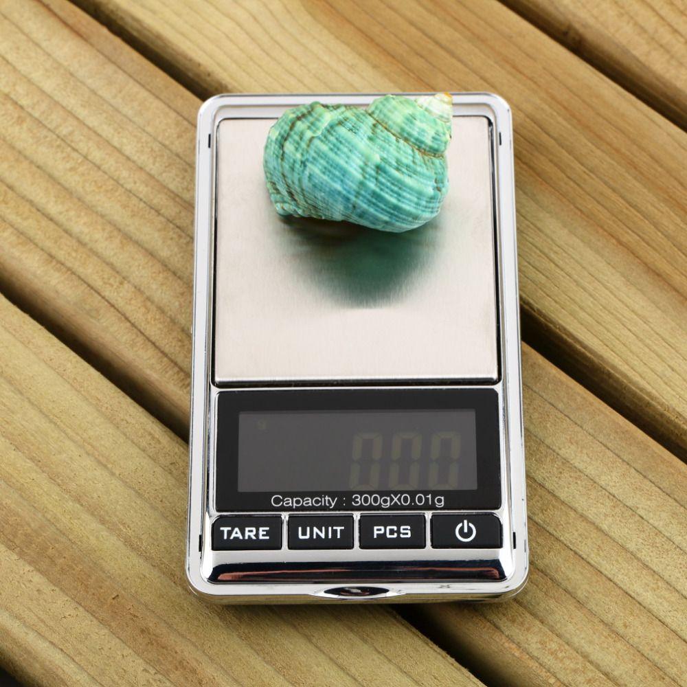 1 stücke Marke NEUE Professionelle Mini 0,01x300g Elektronische Gleichgewicht Gram Digital Pocket Schmuck Waage Heißer Verkauf