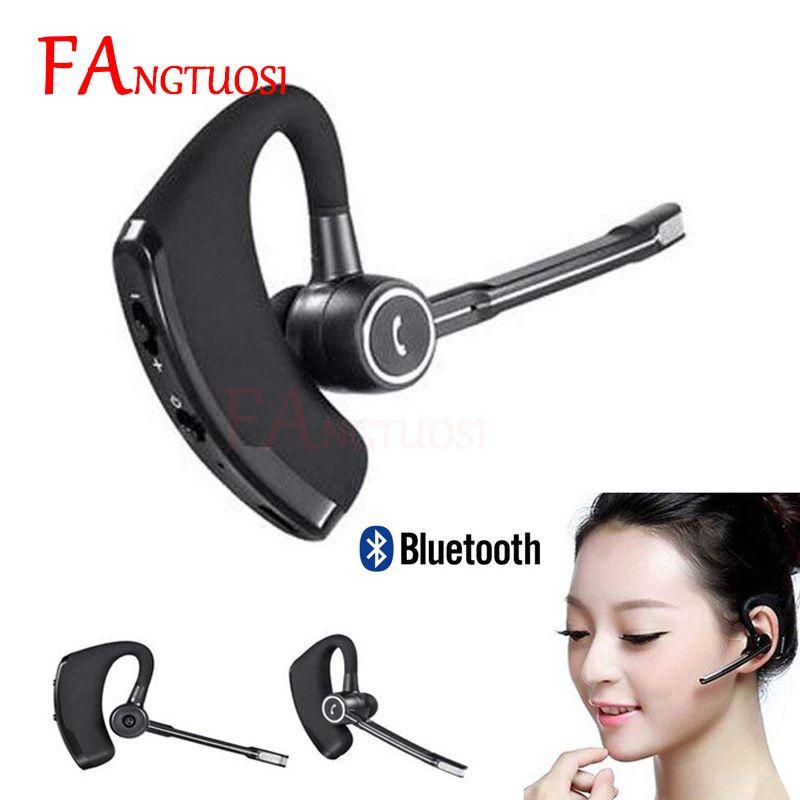 FANGTUOSI haute qualité V8S affaires Bluetooth casque écouteur sans fil avec micro pour iPhone Bluetooth V4.1 téléphone mains libres