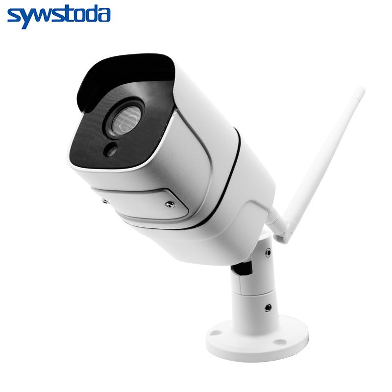 IP Camera Wifi 1080P 720P ONVIF Wireless Wired P2P CCTV Bullet Outdoor Camera With Miscro SD Card Slot Max 64G