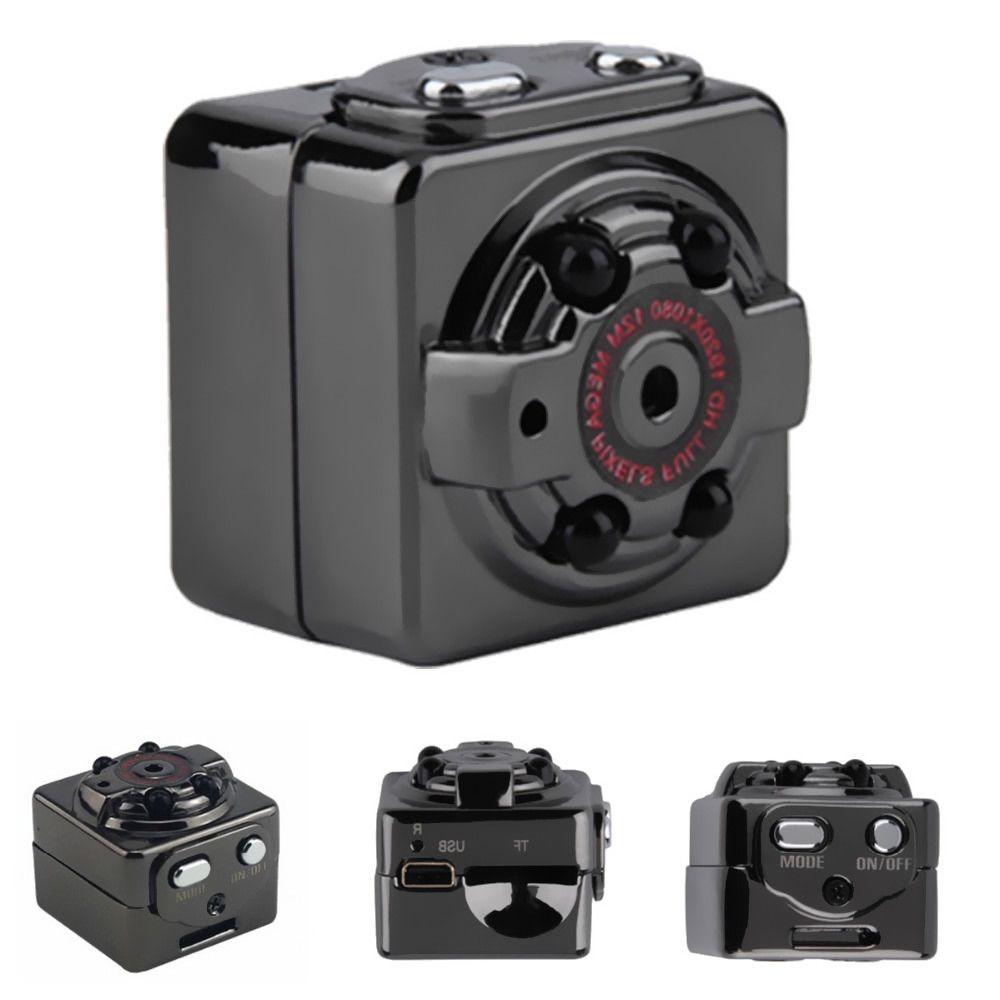 100% New SQ8 Mini Camera Recorder HD Motion Sensor Micro USB Camera Full HD 1080P Mini Camcorder Infrared Night Vision Camera