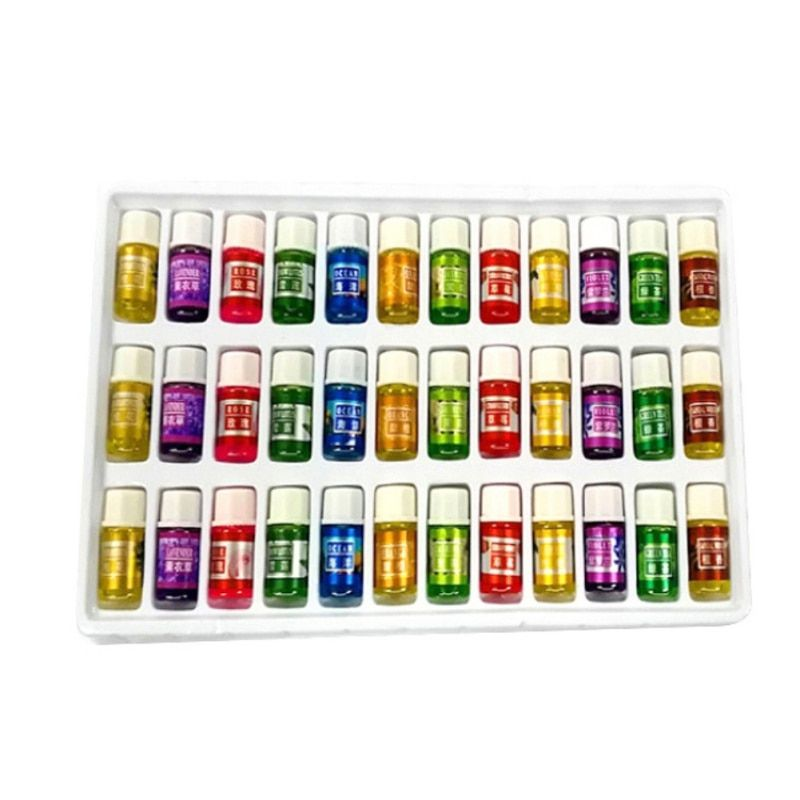 36pcs Skin care Aromatherapy essential Oil 12 Kind 3ML Fragrance Aromatherapy Oil Natural Spa Oil Pack