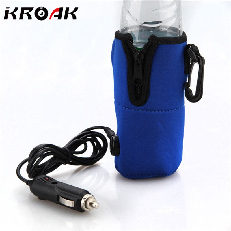 Прочный DC 12 В Еда молоко вода напиток синий USB бутылки чашки теплые Подогреватель Авто Travel Детские Малыш 65 градусов по Цельсию