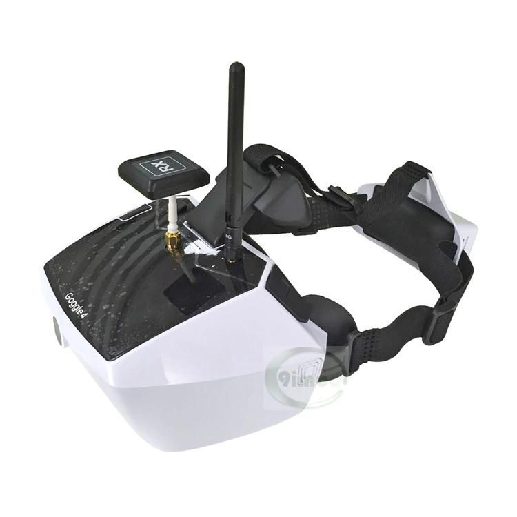 F18065 Original Walkera 5.8G 40 channels Goggle 4 FPV Video image transmission glasses FPV spectacles with antenna