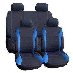 VODOOL 9 шт./компл. универсальный автомобильный чехол для сиденья полиэстер автомобиля спереди подушка на заднее сиденье чехлы протектор автом...