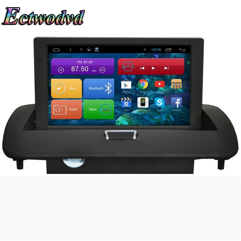 Ectwodvd 8inch Octa Core Android 7.1/Quad Core Android 6.0 Car DVD GPS for Volvo C40/S40/S60/C30/C70/V50 2008-2012