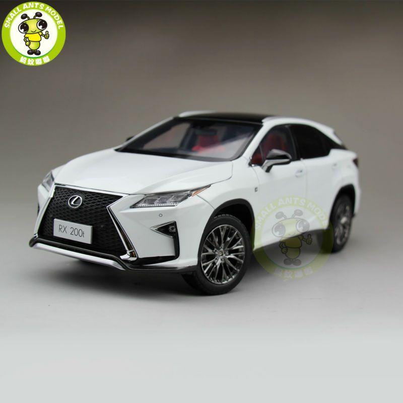 1/18 Toyota Lexus RX 200T RX200T Diecast Model Car Suv hobby collection Gifts White Color