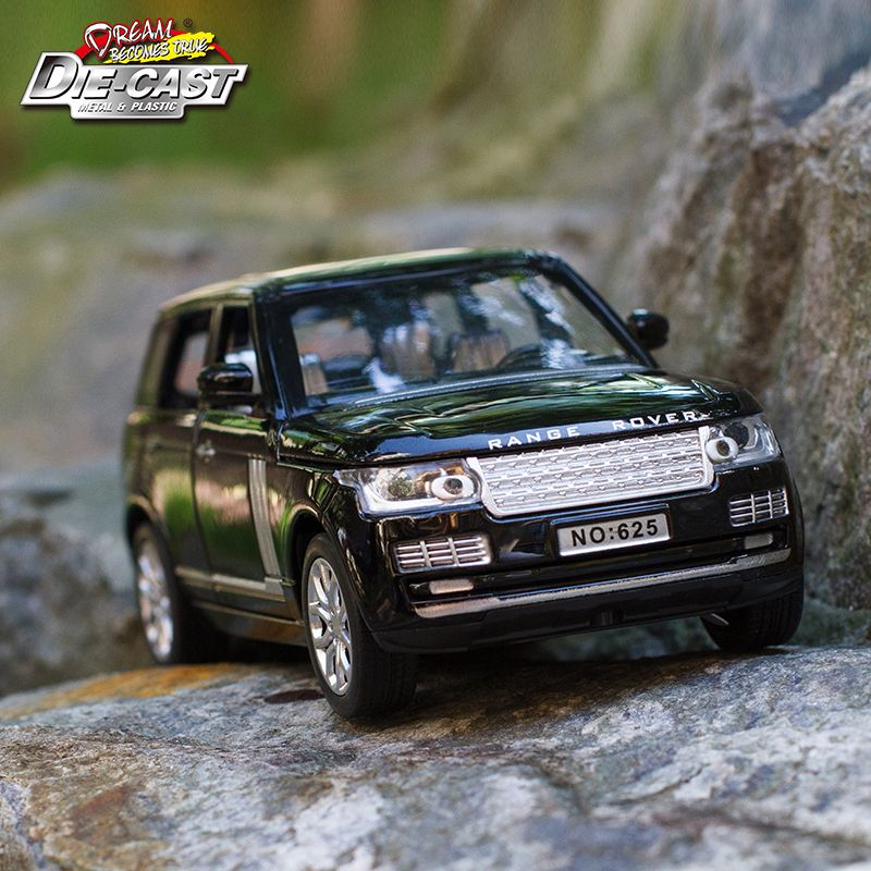 15CM Length Diecast Metal Car, 1:32 <font><b>Scale</b></font> Model, Boys/Kids Toys With 6 Openable Doors/Pull Back Function/Music/Gift Box