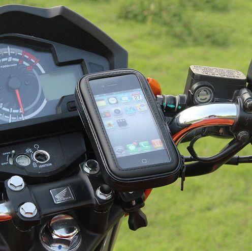 Support de téléphone pour Moto Support Mobile pour Moto Support de vélo pour LG G6 Samsung S9 S8 S2 F1 Support de vélo universel sac étanche