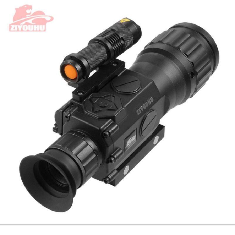 ZIYOUHU Infrarot Nachtsicht Rifle Optics Scope Digital Funktion Mit Dem Ziel Gerät Sichtung Teleskop Anblick Nachtsicht Monokulare