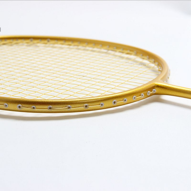 Full Carbon Fiber Badminton Rackets With Strings Professinal Racquet Offesive Type G4 Trainnig High Quality Racket