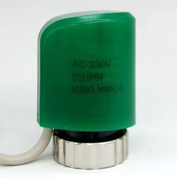 Финальная распродажа обычно Открыть Нет электрический Термальность привод для коллектор пол Отопление клапан часть 230 В радиатор термоста...