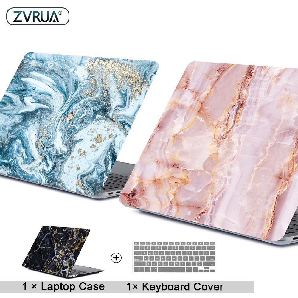 Étui pour ordinateur portable en marbre pour APPle MacBook Pro Air Retina 11 12 13 15 Mac Book 15.4 13.3 pouces housse de coque tactile + clavier
