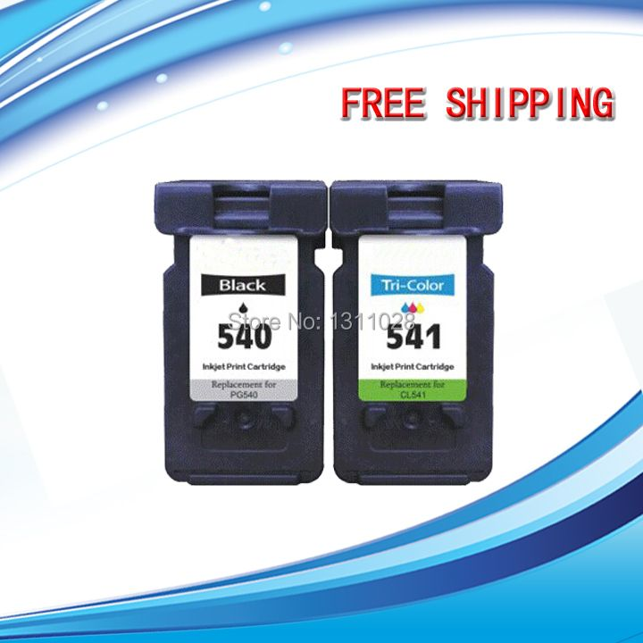 High Capacity PG540 XL & CL541 XL Photo Quality Inks for Pixma MG2250 2150 3150 3250 4250 4150 MX435 375 515,1set,2pcs