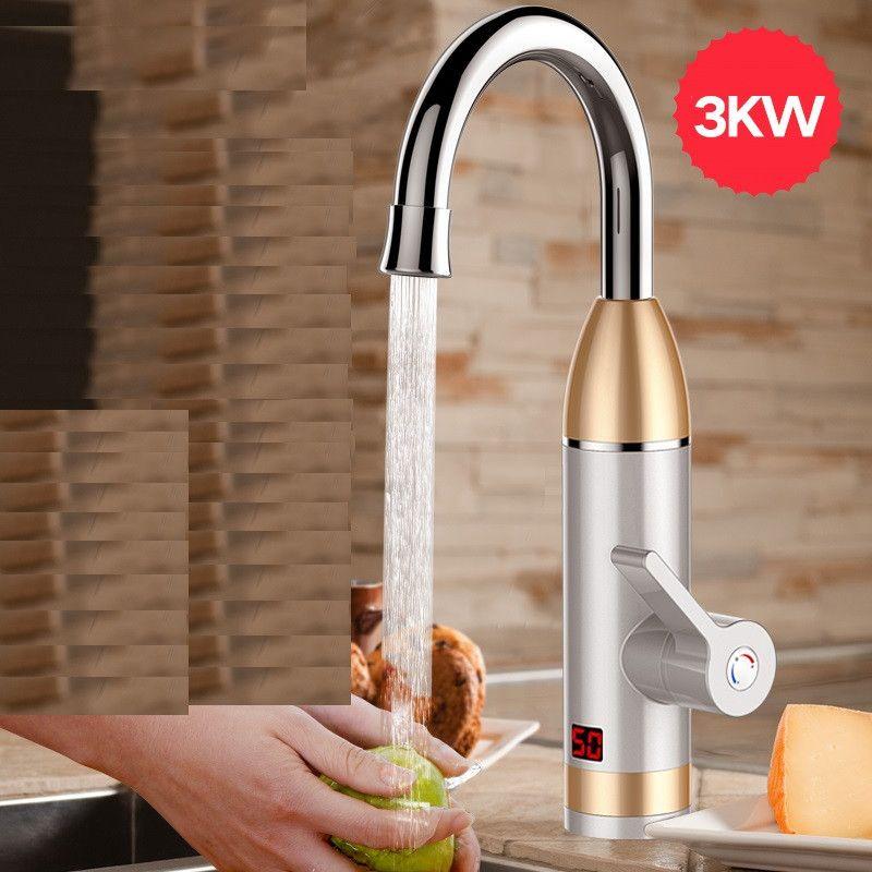 ZGD9-2, Электрический проточный водонагреватель мгновенный нагреватель горячей воды холодной отопление кран проточный водонагреватель для к...