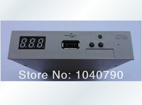 Livraison gratuite SFR1M44-U100 version normale 3.5 pouces 1.44 mo USB SSD lecteur de disquette émulateur GOTEK