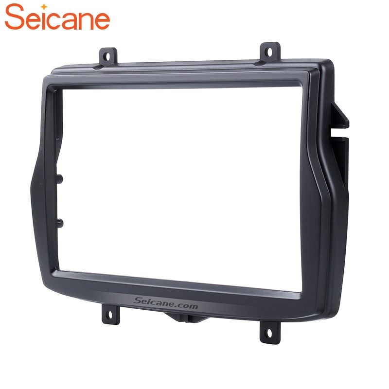 Seicane 2 DIN Car Radio Fascia for 2016 Daewoo Royale Russian/LADA Vesta Stereo Refitting Mounted Frame Panel Installation