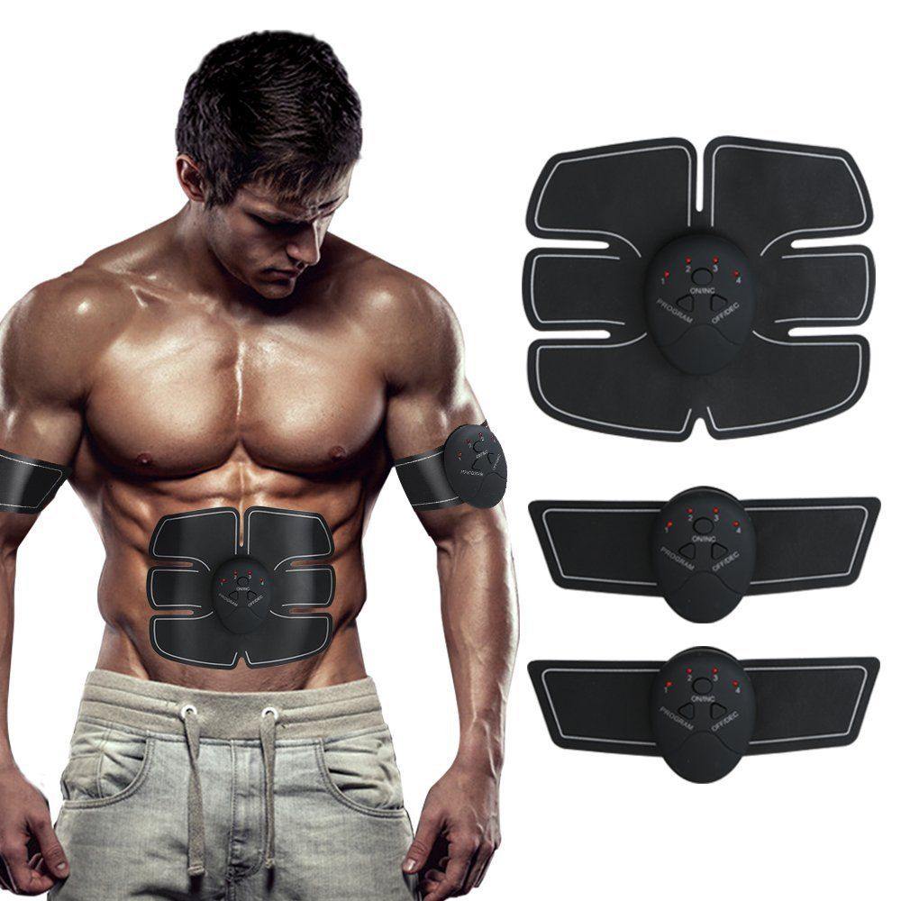 abdominal muscle fitness bodybuilding electric muscle stimulator abdominal exercise machine trainer slimming belt equipment