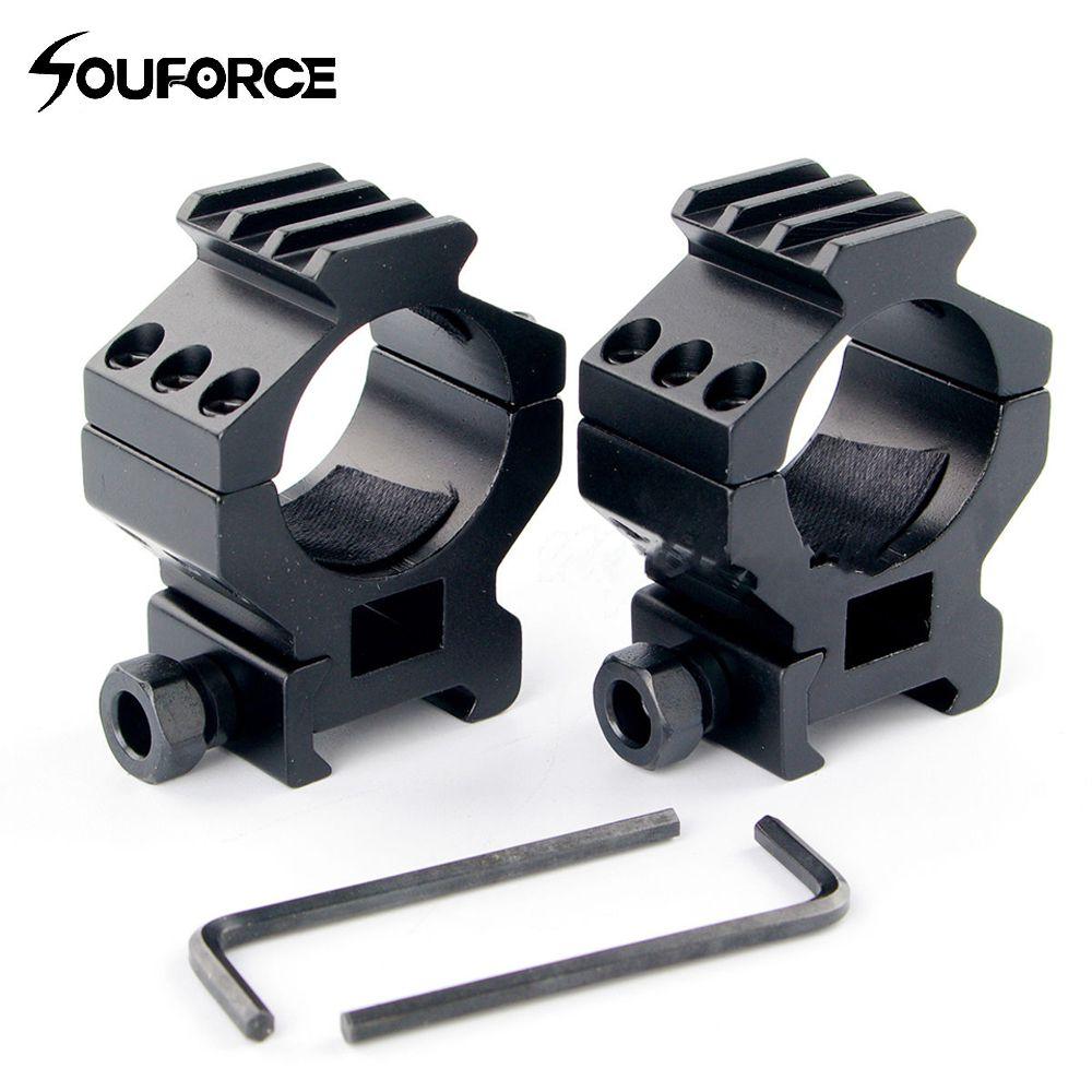 2 Stücke 30mm Bereich-ring 20mm Weber Hohe Pro Halterung Für Zielfernrohr