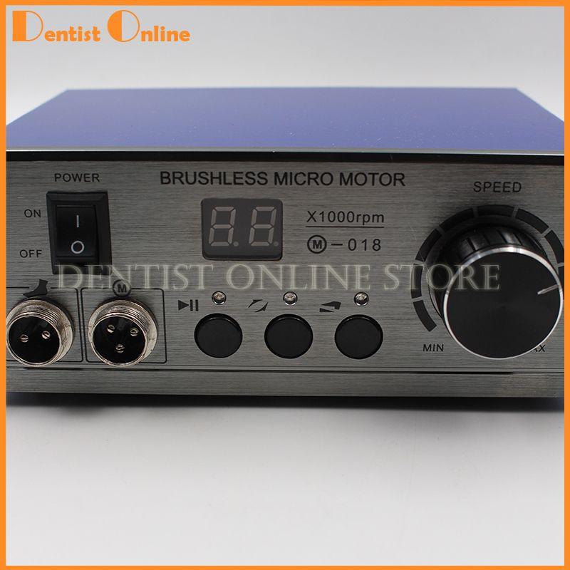 70,000 RPM Non-Carbon Brushless Aluminium Shell Dental Micromotor Polishing Unit Micromotor Control Unit