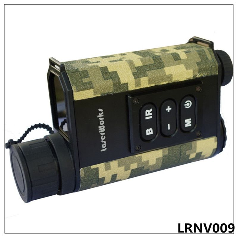 Night vision rangefinder monocular night vision infrared telescope hunting night measure height speed laser meter detective 6x
