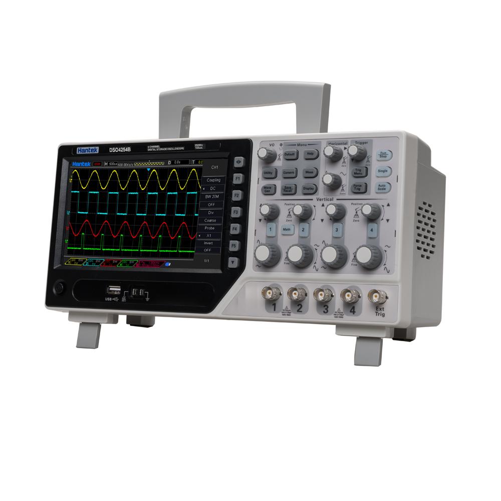 Top rated Hantek DSO4204B advanced digital trigger system DSO4204B Hantek 200MHz bandwidth 1GS/s sample rate DHL Free shipping