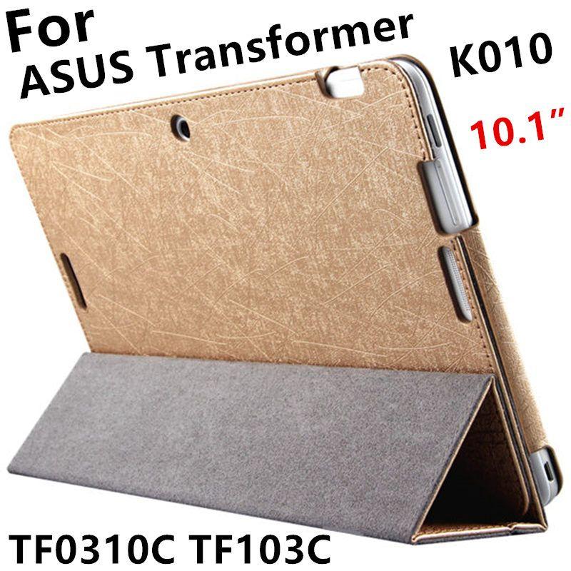 Case Pour ASUS Transformer Pad TF0310C De Protection Smart cover En Cuir Tablet Pour TF103C TF103CG K010 10.1 pouce PU Protecteur Manches