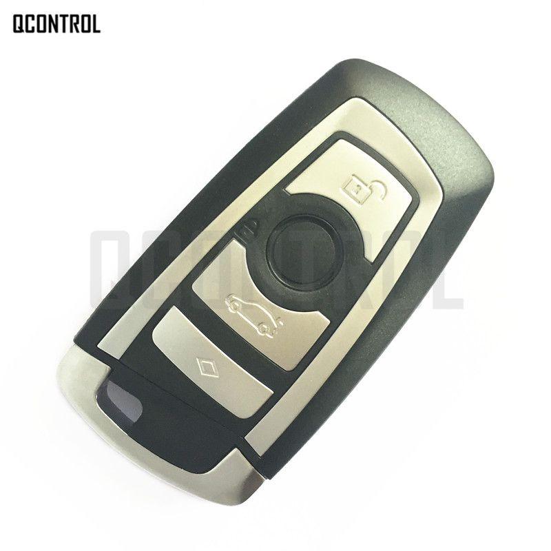 QCONTROL Cover Case Housing for BMW Remote Smart Key 1 3 5 7 F Series CAS4 System Vehichle Car Auto