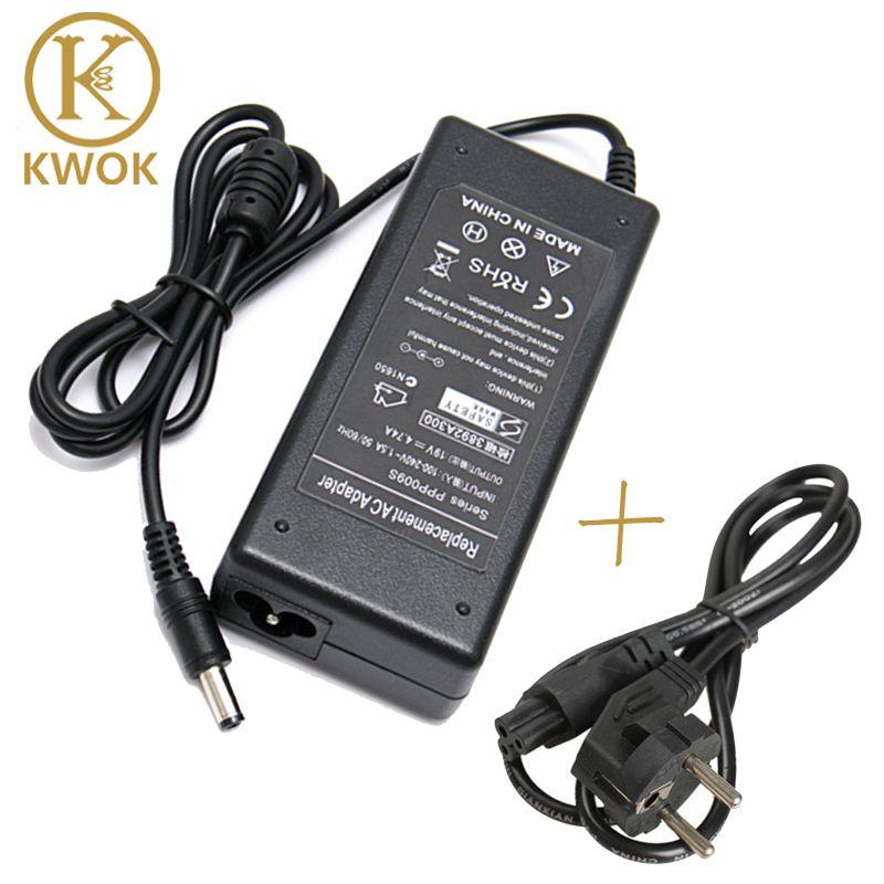 EU Netzkabel + 19 V 4.74A 5,5*2,5mm 90 Watt AC Adapter Laptop Ladegerät Für asus a8 f8 x81 a43s f80 f82 k40 a45 x81 m50 k52 z99 A56