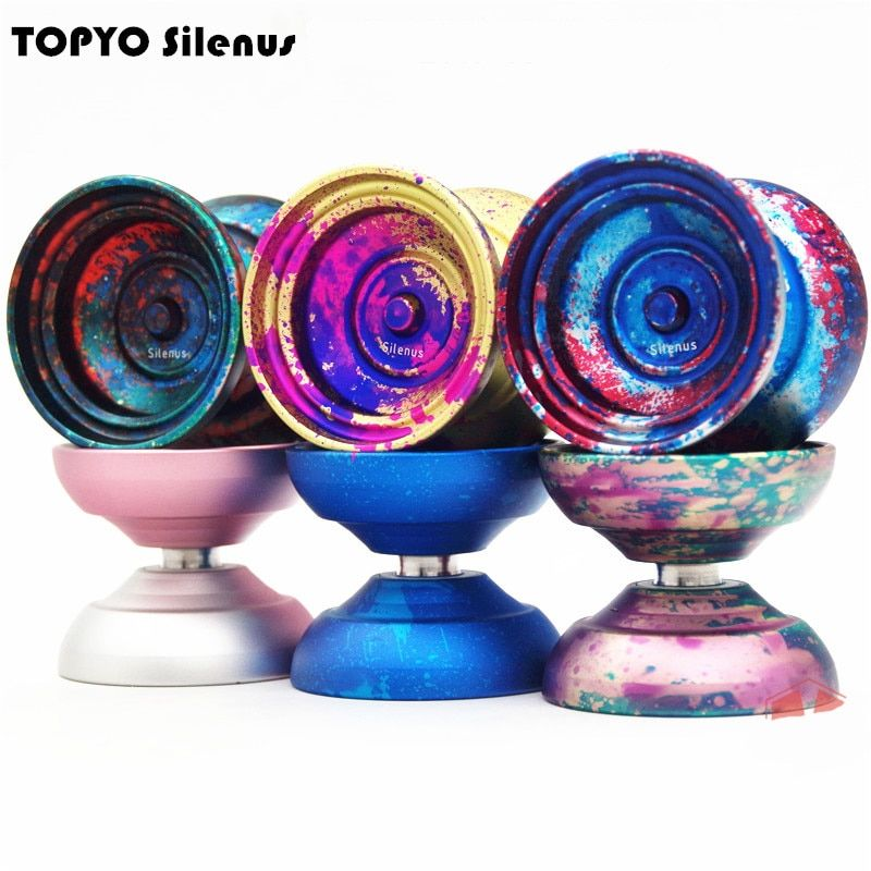 2018 New arrive TOPYO Silenus YOYO professional yo - yo The god of the forest yoyo Metal ball Competition Professional yoyo