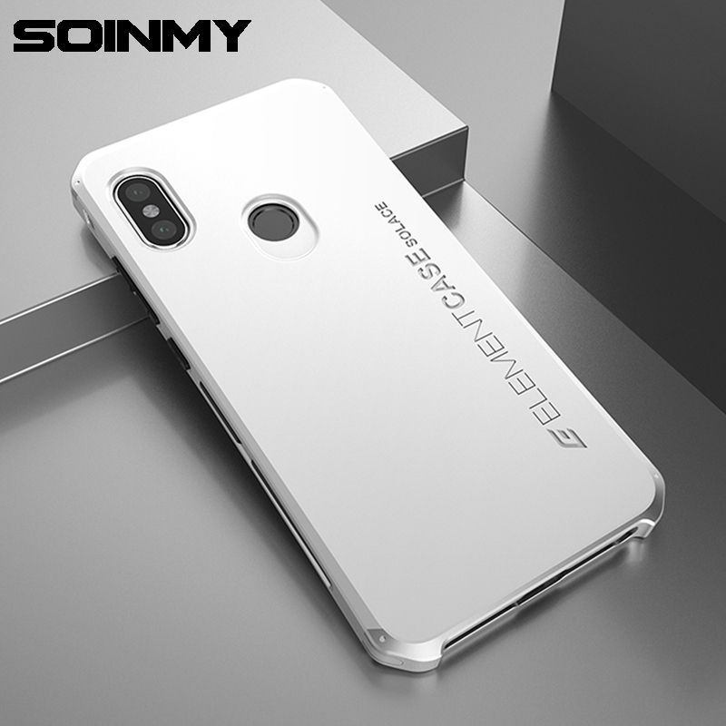 Soinmy Redmi note 5 Case Shockproof Armor Aluminum Metal Frame Hard PC Phone Case For Xiaomi Redmi Note 5 pro Cover Note5 Fundas
