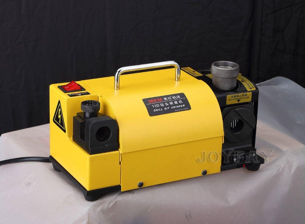 Bohrerschleifmaschine Grinder Maschine MR-13D 3-13mm 100-135 Winkel CE zertifiziert