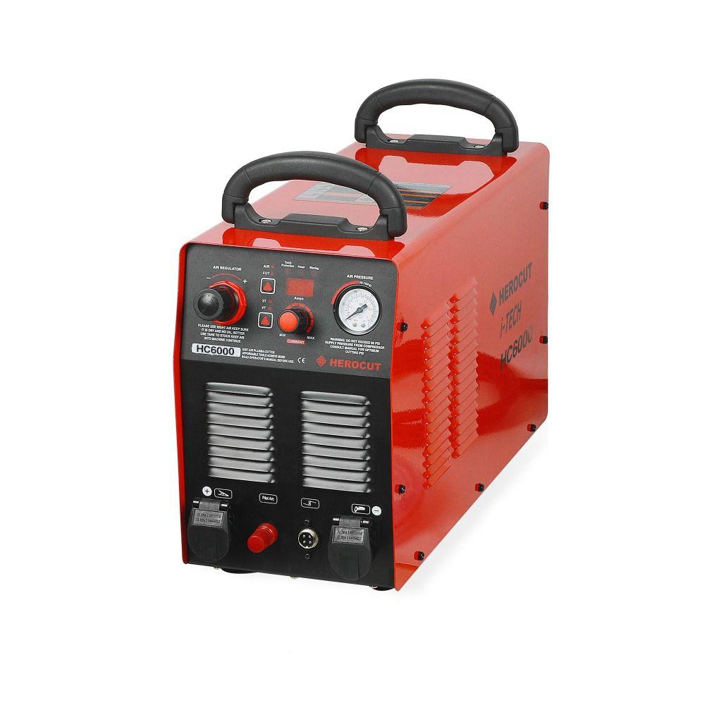 CNC Nicht-HF Pilot Arc HC6000 60A 220V IGBT Plasma Cutter Digitale Steuerung Plasma Schneiden Maschine Schneiden Dicke 20mm