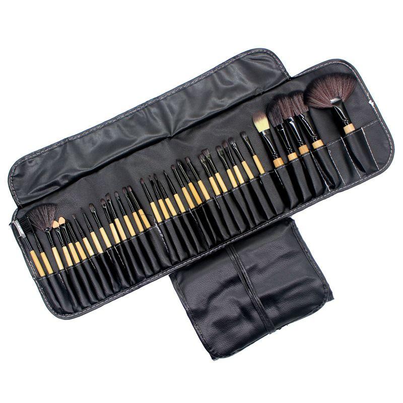 32Pcs Makeup Brushes Professional Soft Cosmetics <font><b>Make</b></font> Up Brush Set Kabuki Foundation Brush Lipstick Beauty Tools maquillaje
