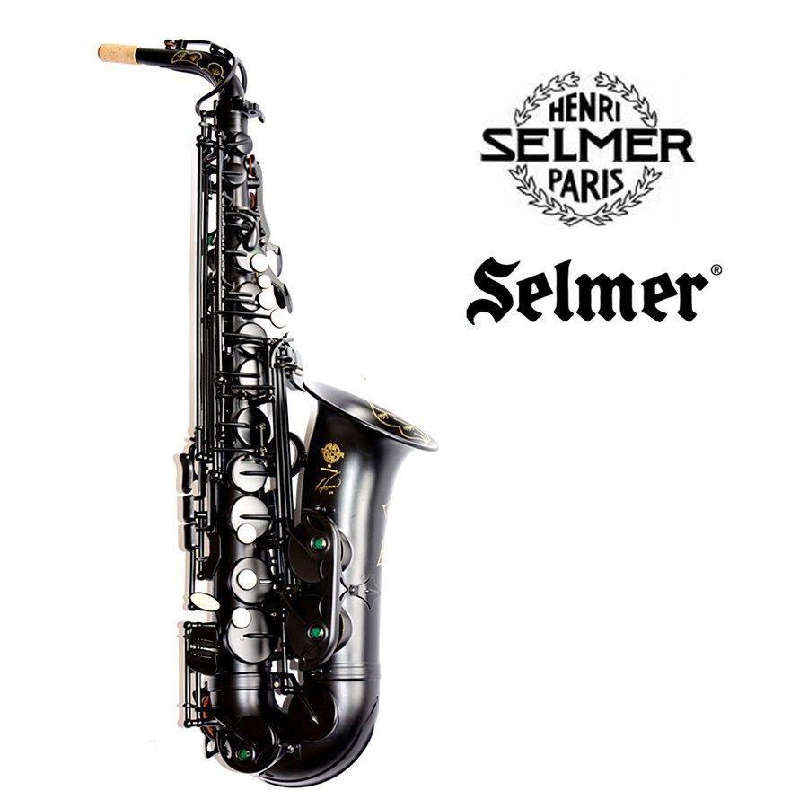 New France Black Alto Saxophone SELMER 54 E-flat Alto Saxophone Musical Pearl Black professional Fast Shipping