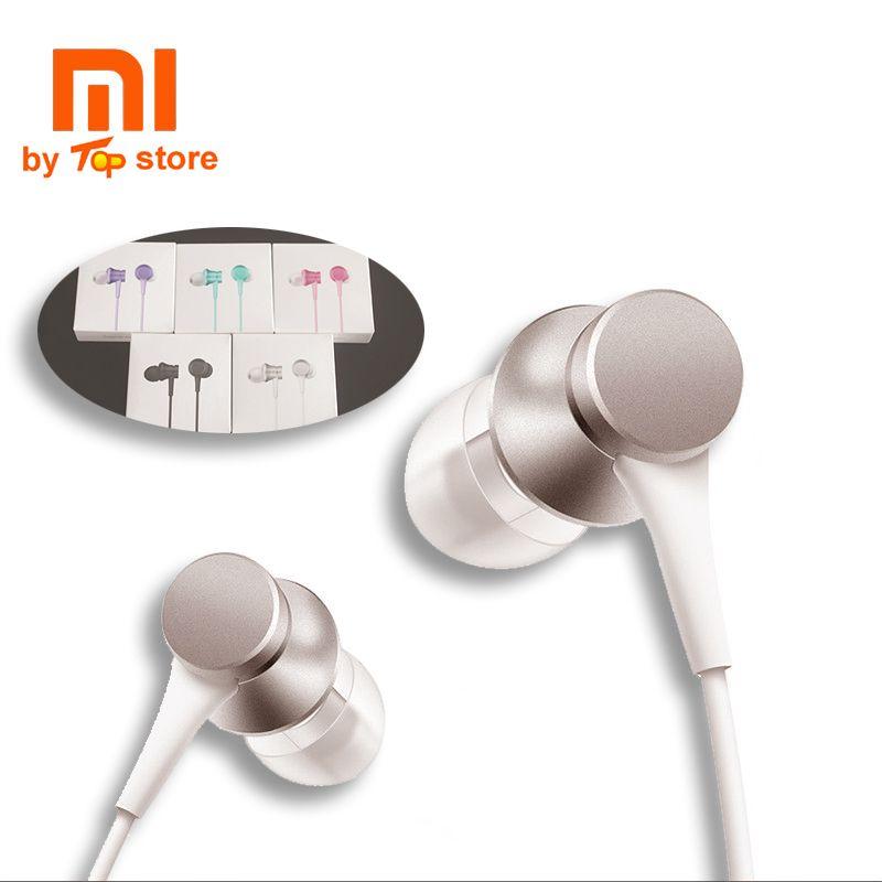 2017 D'origine Xiaomi Xiomi Nouvelle version In-Ear piston 3 Écouteurs avec Commande de Fil de micro casque pour MI 6 et l'iphone fone de ouvido