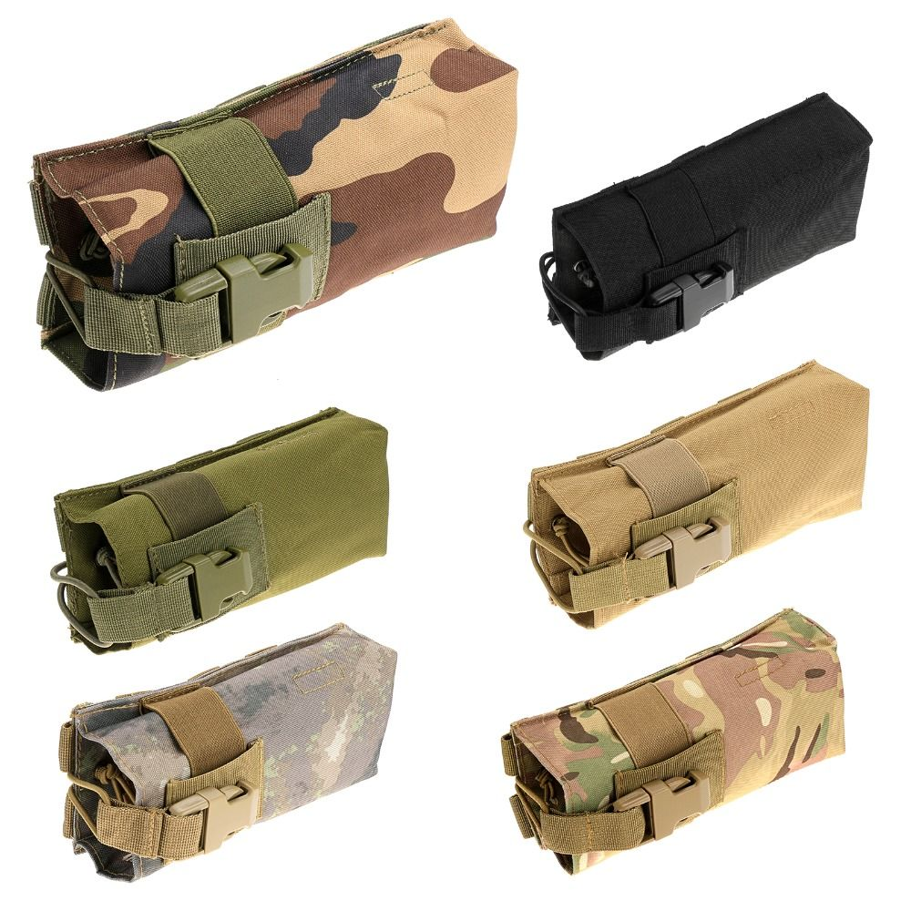 New 6 Color Tactical Travel Molle Military Nylon Outdoor Hiking Water Bottle Pouch Bag