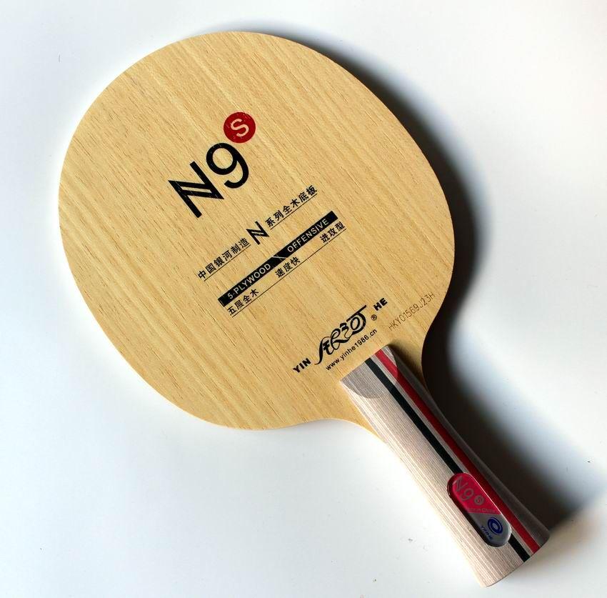 Original milkey weg yinhe reinem holz n-9s professionelle tischtennis-blatt für anfänger tisch tennisschläger schläger sports innen