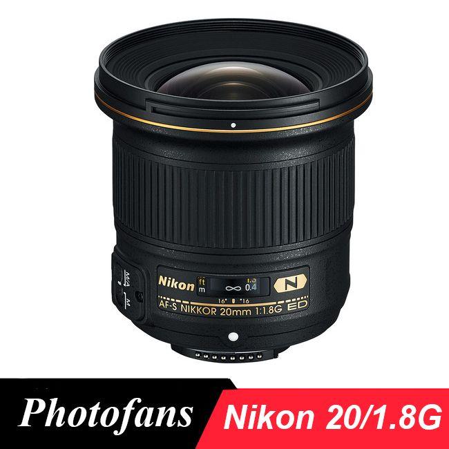 Nikon 20 1.8 G Lens  AF-S NIKKOR 20mm f/1.8G ED wide angle  lenses for Nikon