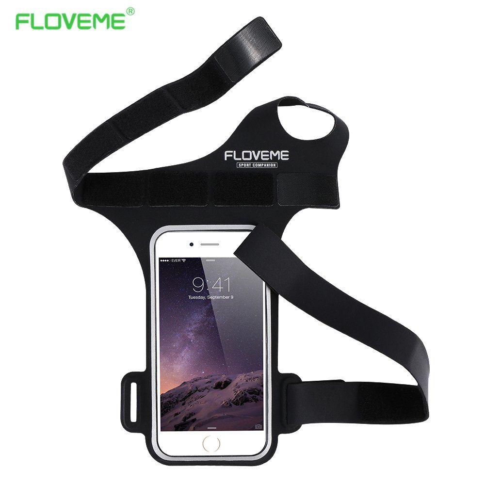 FLOVEME Courir GYM Sports Cyclisme Brassard Pour Samsung Galaxy S8 S8 Plus S6 Bord S7 Bord Sport Arm Band 5.5 Pouce Sac Pour Galaxy