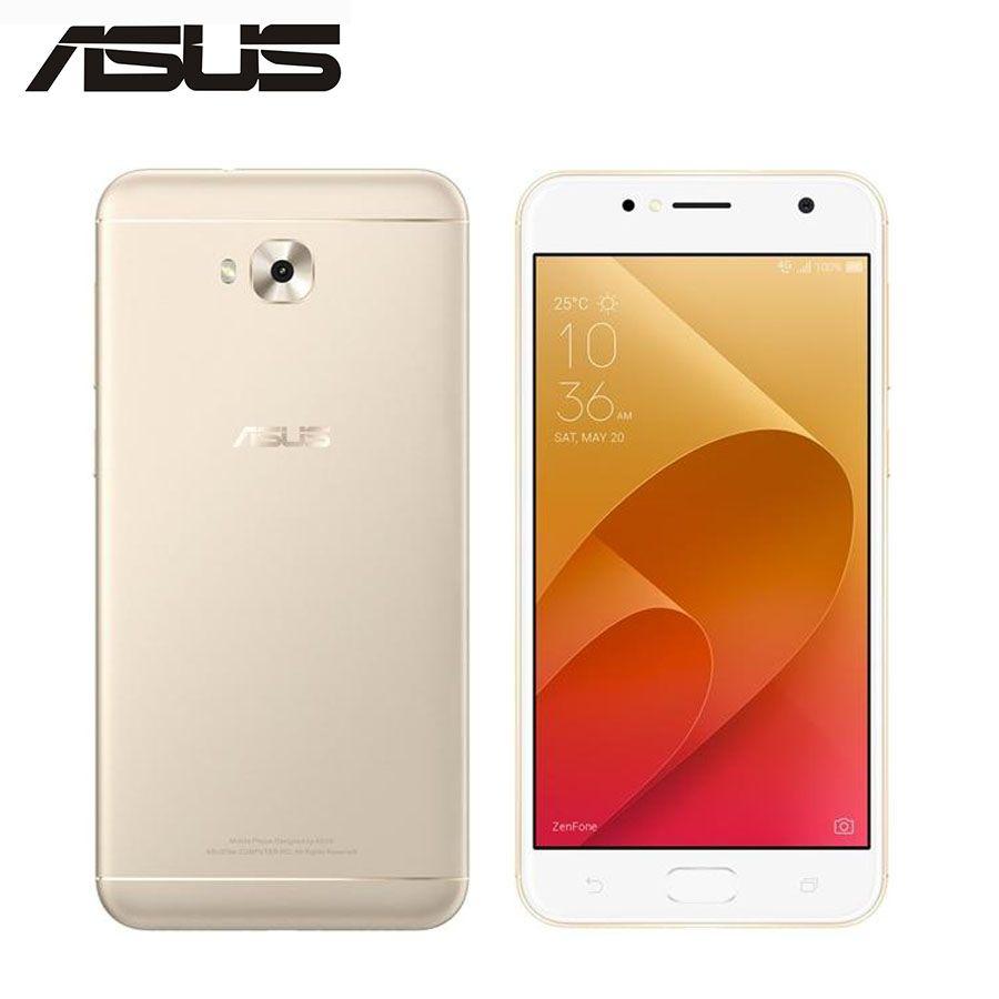 Globale ASUS ZenFone 4 Selfie ZD553KL 4G LTE Handy 4 GB 64 GB Octa Core 5,5 zoll 16MP + 20MP Kamera Dual SIM Android Smartphone