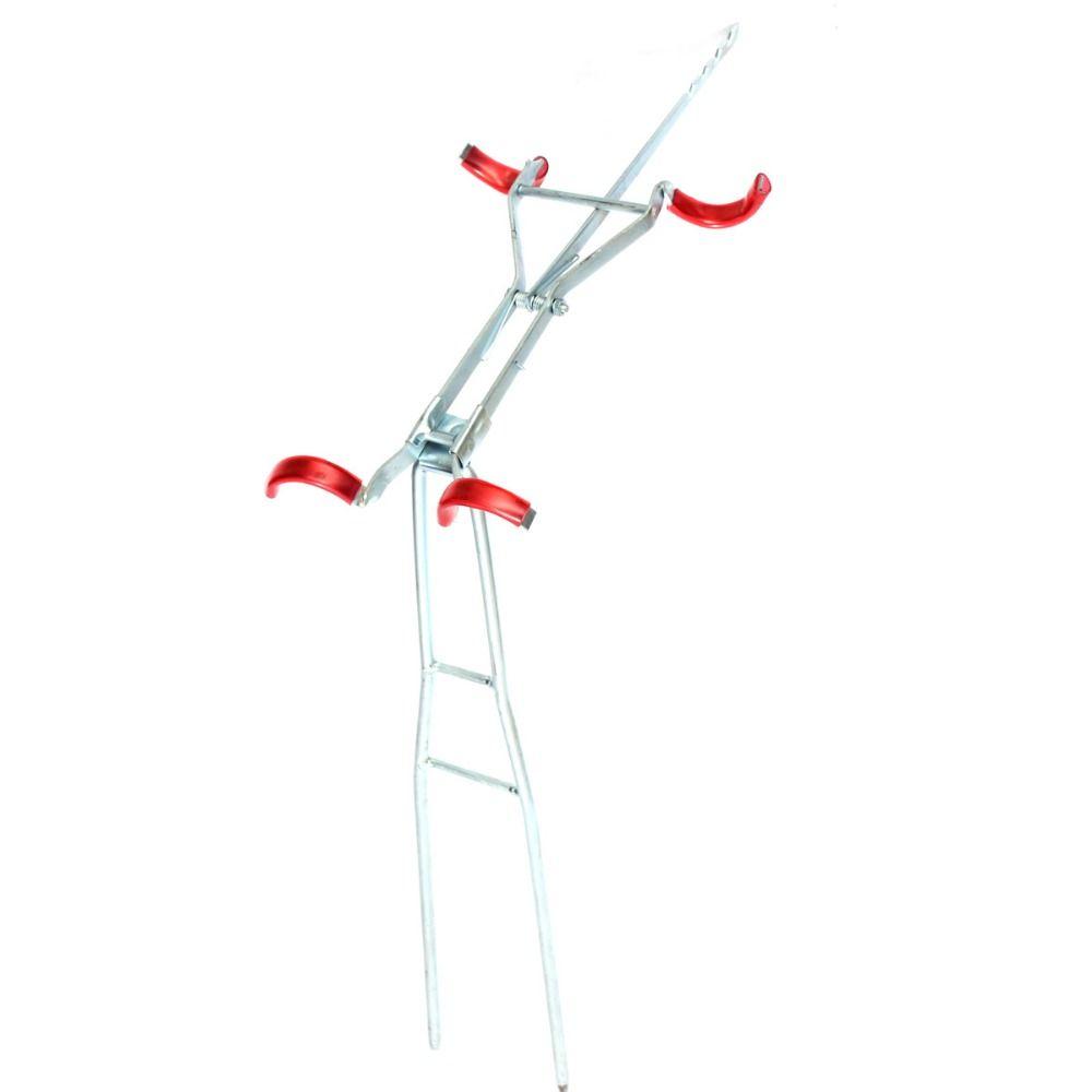 Heiße verkaufende Justierbare Angelrute Doppel Masthalterung Praktische faltbare Angelzubehör Angeln Tool Stehen Inhaber