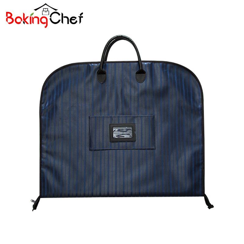 BAKINGCHEF Men Suit <font><b>Storage</b></font> Bag Dustproof Hanger Organizer Travel Coat Clothes Garment Cover Case Accessories Supplies Products