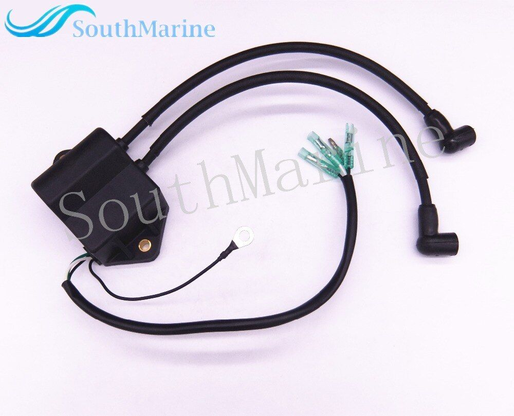 Boat Motor T8-05030000 T6-05030000 Ignition Coil Assy for Parsun HDX 2-Stroke T6 T8 T9.8 Outboard Engine High Pressure Assy