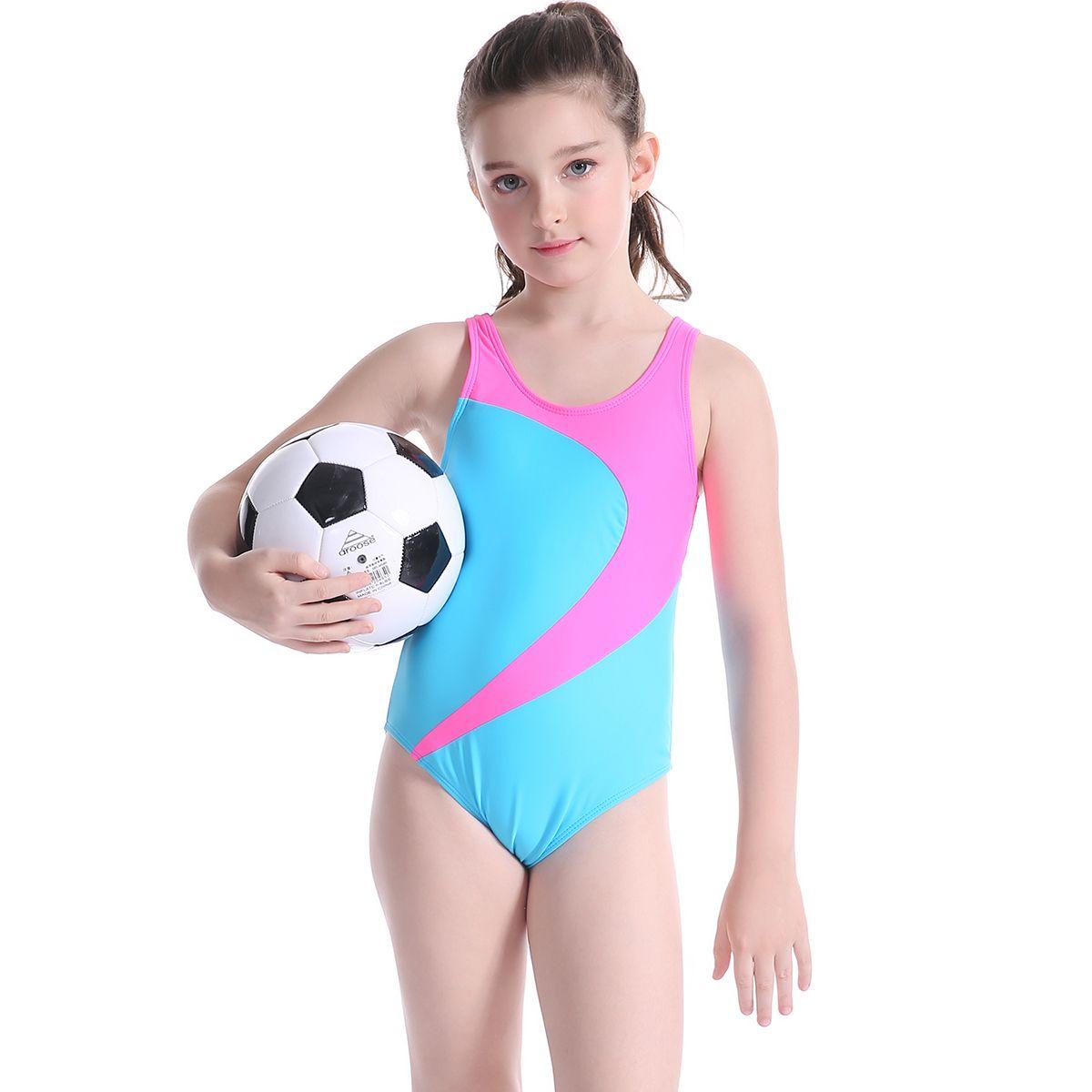 2017 badeanzug Mädchen Einteilige Badebekleidung Baby Body Kinder Bademode Sport Badeanzug Badeanzug