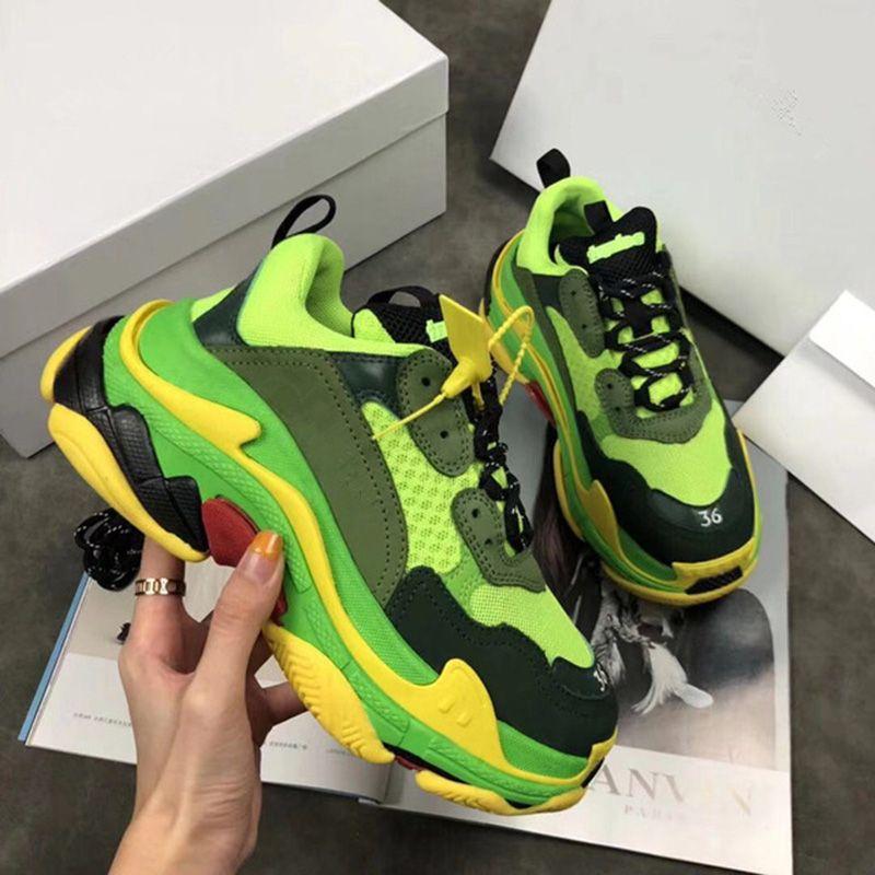 2018 HEIßER Frauen Männer Turnschuhe Echtes Leder Laufschuhe Outdoor Sport Schuhe Männer Marke Unisex Atmungsaktive Tun alten Laufschuhe