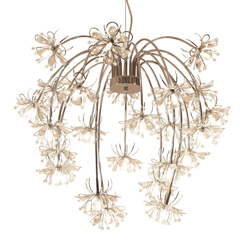 Art decor design modern crystal chandelier lighting AC110V 220V lustre cristal LED dinning room living room lights