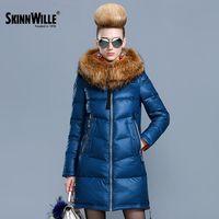 Skinnwille 2018 ultra ligero mujer abajo chaqueta mujer abajo invierno abajo chaqueta mujeres cortas mujeres con capucha abrigo de invierno