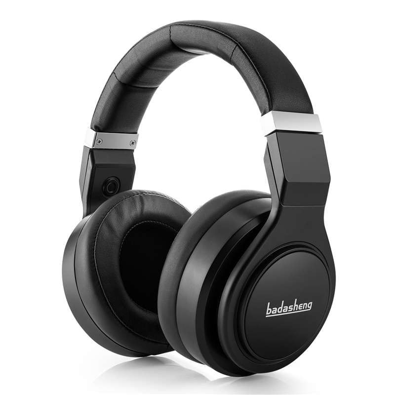 Professional DJ Headphones Studio Monitor Headset Smartphone Tablet Laptop PC and for Mac With Hi Fi Adapter For Home Audio Sys